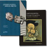 Coleção Gregoret - O Tratamento Ortodôntico com Arco Reto + Ortodontia e Cirurgia Ortognática Diagnóstico e Planejamento