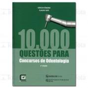 10.000 QUESTOES PARA CONCURSOS DE ODONTOLOGIA